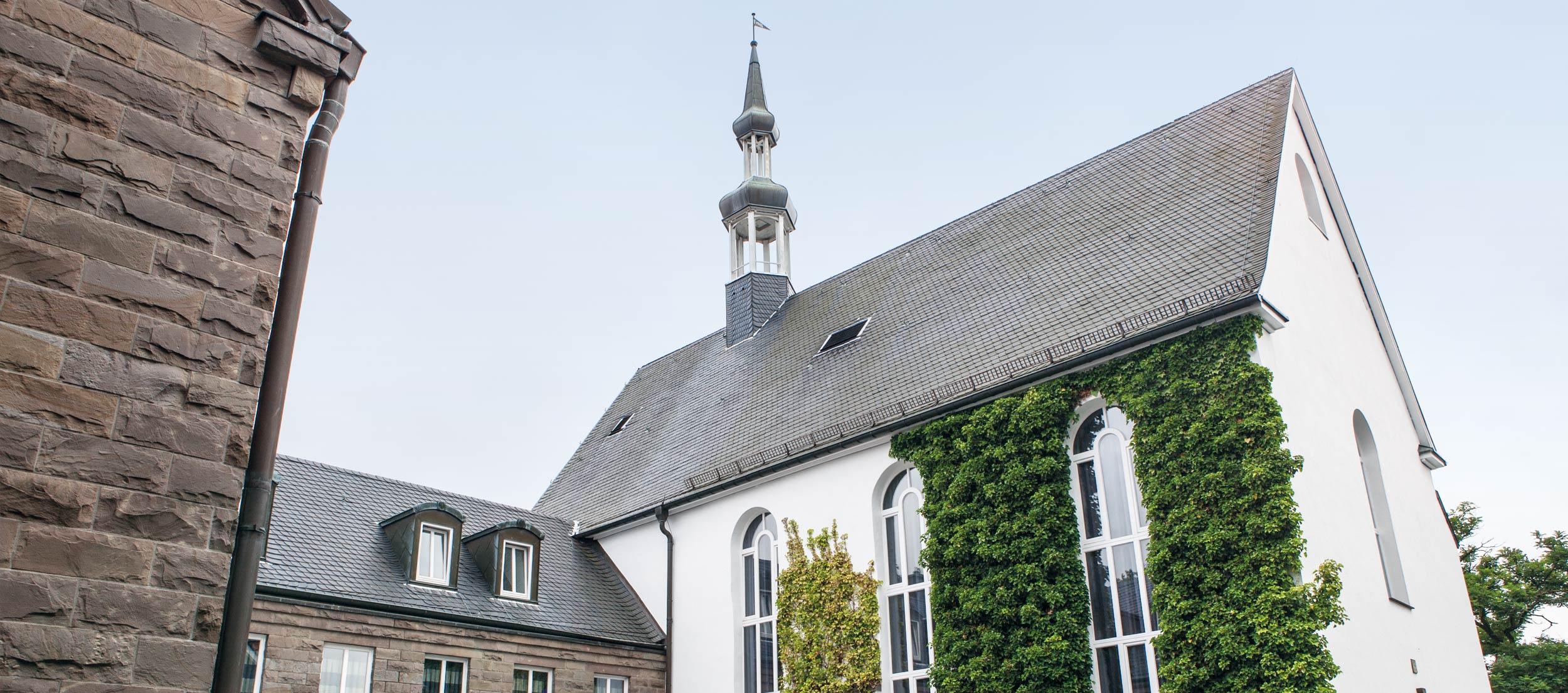 Außenansicht der Klosterschänke in Remscheid.